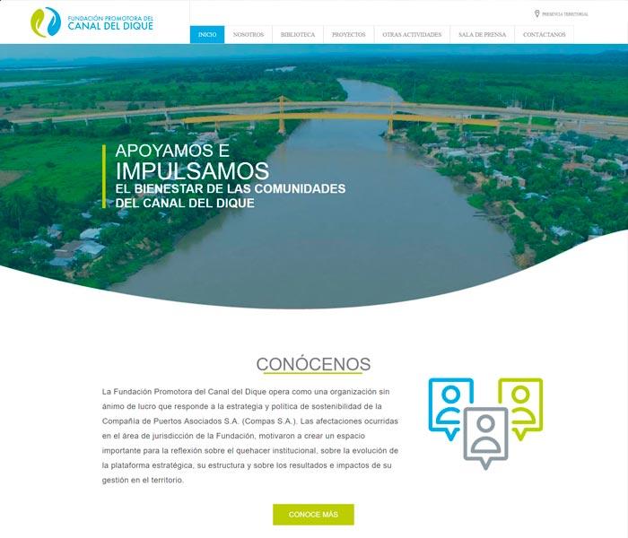 Fundación Promotora del canal del Dique