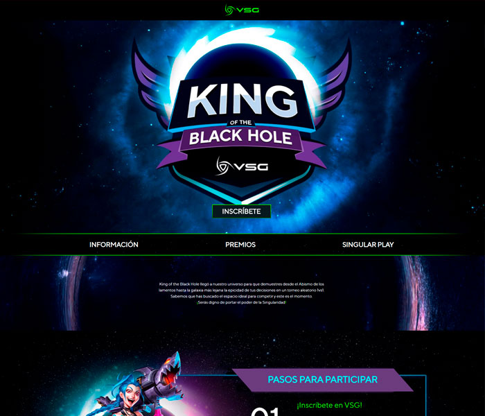 VSG Latam – King of the Black Hole – Landing